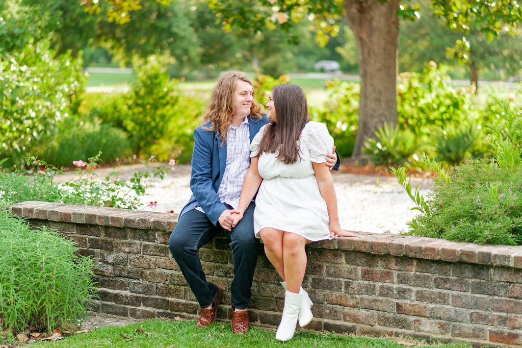 Hampton Park engagement photos