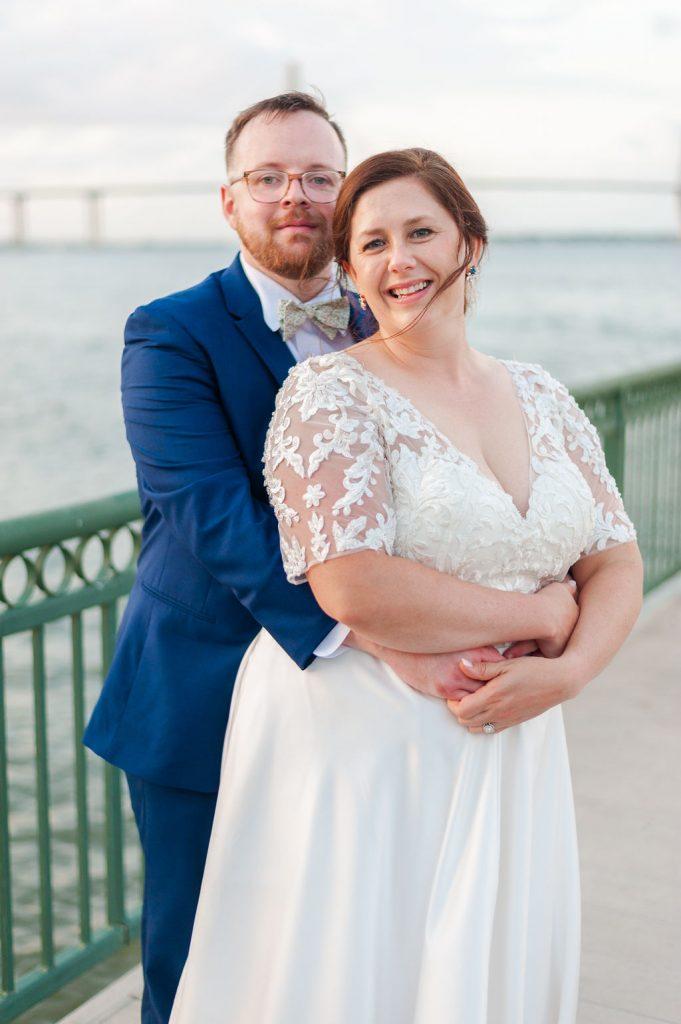 South Carolina Aquarium wedding