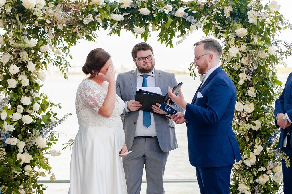 South Carolina Aquarium Wedding ceremony